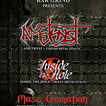 Amethyst (It) + Inside the Hole (It) + Mass Cremation (Bg) Live @ Bar Grind