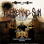 Awakening Sun (Lithuania/UK) + LieVeil (BG) Live @ Club Smile (07.10.2013)