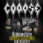 Corpse + TBA live @ Club Smile, Varna (09.12.2016)