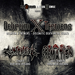 Delirium X Tremens (IT) + Concrete (BG) + Mass Cremation (BG) Live @ Club Smile (19.10.2013)
