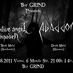 Primitive Angel Gospoden + Abaddon - Live @ Bar Grind